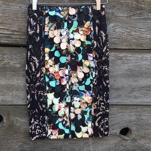 Byron Lars Paillette skirt size 0